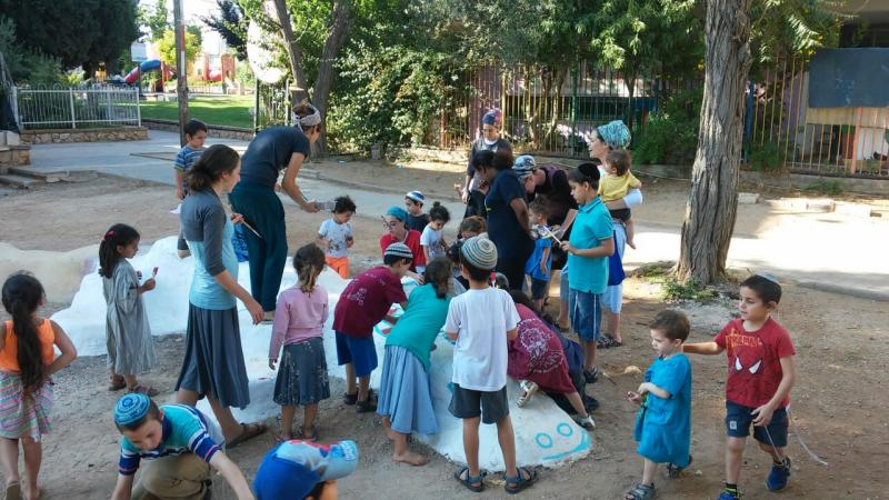 - פעילות קהילתית בגינת פנינת הנורית לכל המשפחה