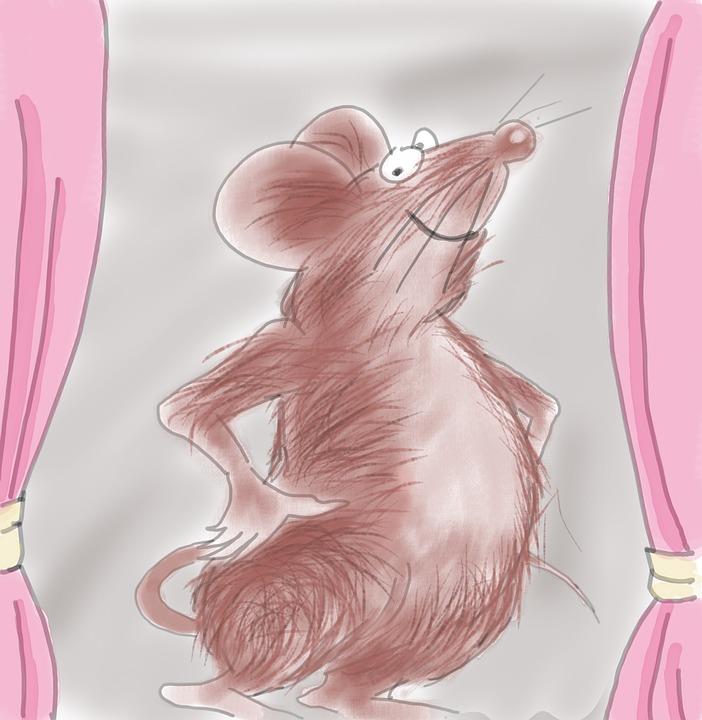 סיפור בהמחשה - העכבר והתפוח