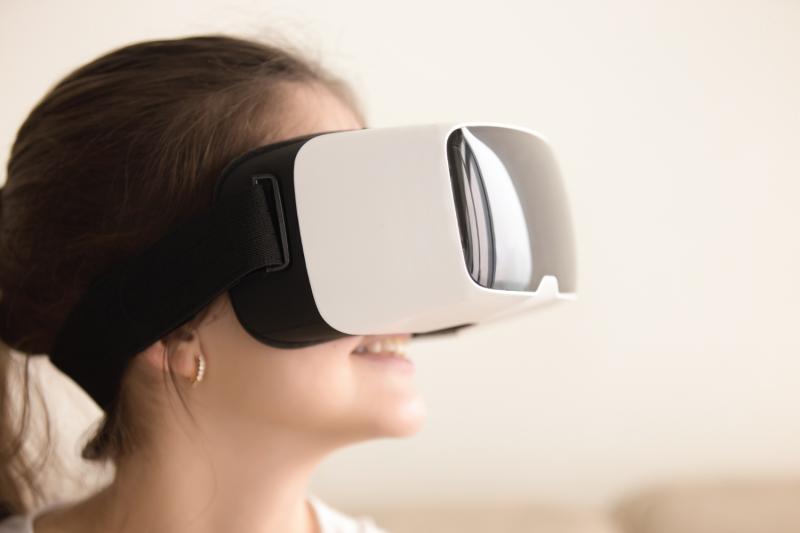 זזים בגנים: מציאות מדומה